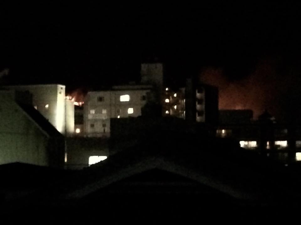 奈良 nara 三五夜 茶道 隠れ家サロン 茶室 若草山 山焼き
