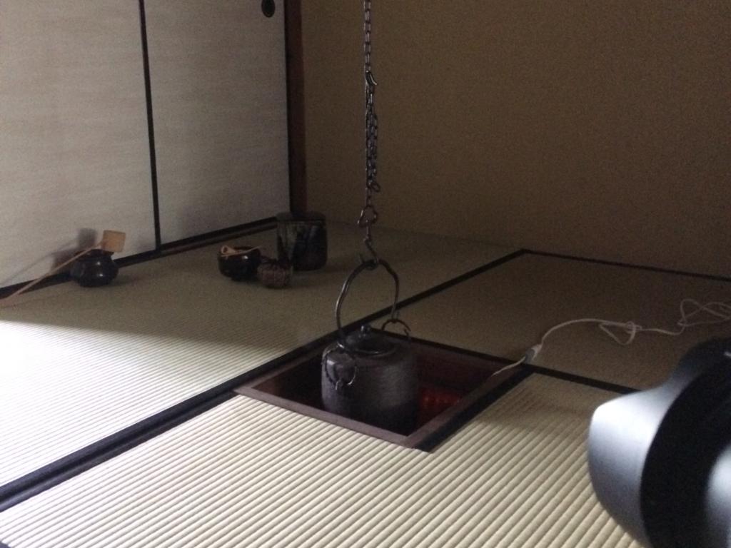 奈良 nara 隠れ家サロン 三五夜 茶道 茶の湯 お茶 茶会 月釜 弥生 釣釜 薄茶 濃茶