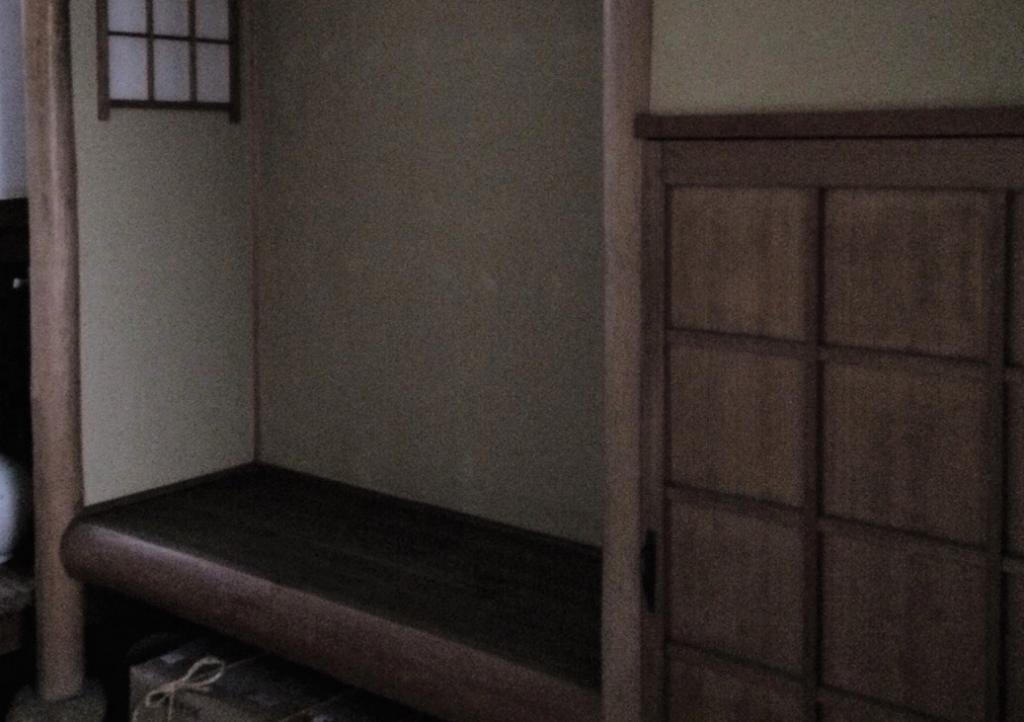 奈良 nara 隠れ家サロン 三五夜 茶室 茶道教室 少人数制教室 表千家 お稽古 つくばい 庭 腰掛待合 にじり口 四畳半