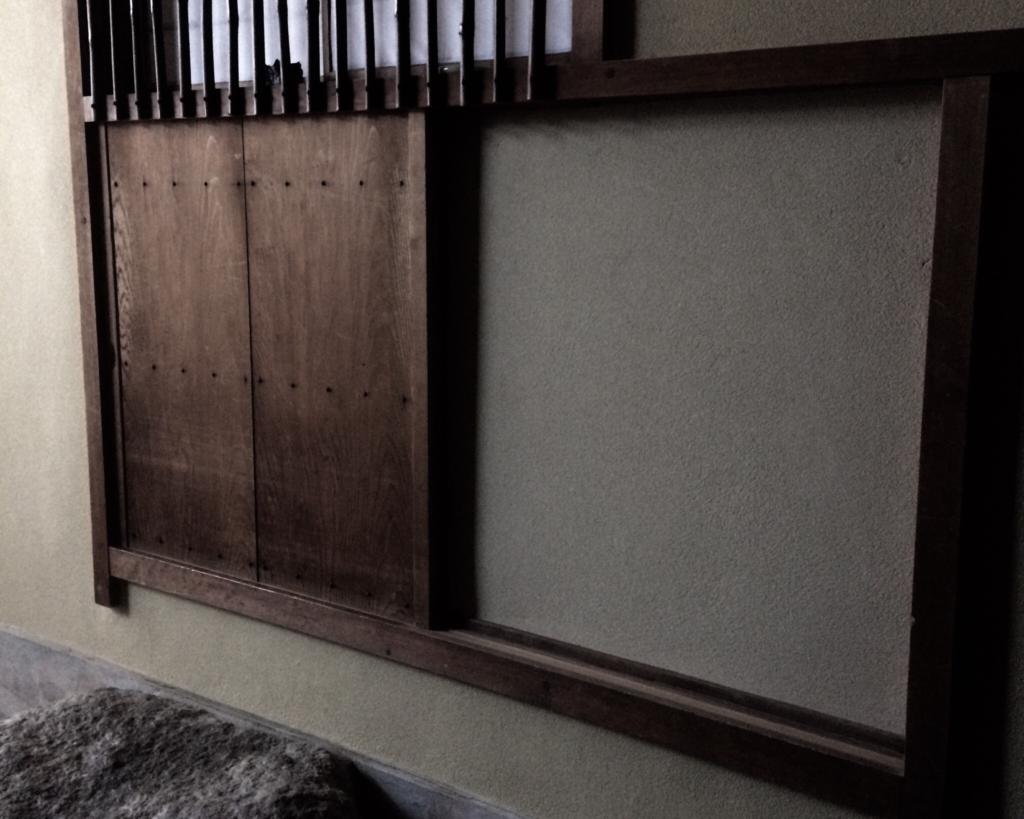奈良 nara 隠れ家 三五夜 茶道 茶の湯 煎茶道 煎茶 お茶 ほうじ茶 焙じ茶 更紗 インド更紗 敷物 茶道具 水指 釣釜 炉 茶室 茶席 煎茶席 JR奈良駅 徒歩 2分 三網田